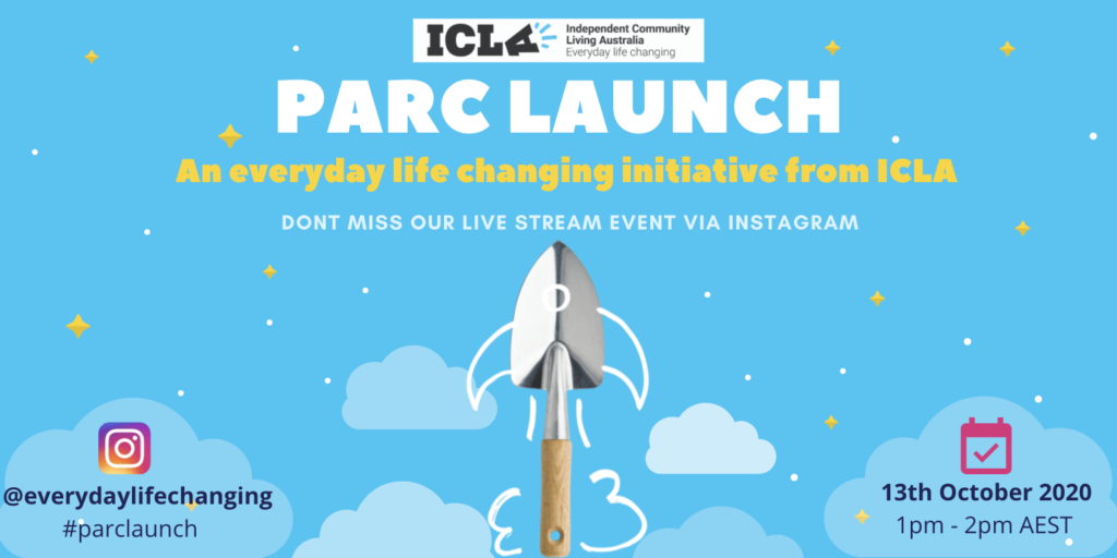 PARC launch poster